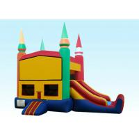 Wholesale 22Ft Rainbow Module Castle Inflatable Bouncer Combo With Digital Printing from china suppliers