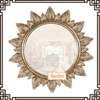 Wholesale large size home decor polyresin framed wall mirror for bathroom mirror A0563KY from china suppliers
