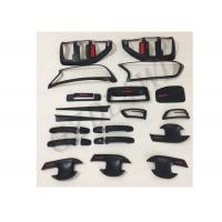 China Matte Black Body Trims For  Ranger T6 T7 PX 2012 + Onwards Body Kits Cover on sale