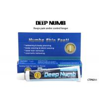 China Water - Based Deep Numb Tattoo Cream Topical Anesthetic Gel Pain Killer wholesale