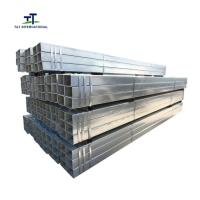 Wholesale Pre Galvanized Square Steel Pipe Tube Light Weight from china suppliers