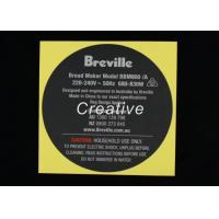 Professional Custom Sticker Labels , Printed Logo Permanent Adhesive Stickers