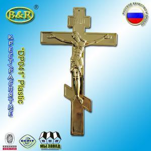 China Coffin Plastic Ornament Casket Accessories Russian Design Gold Color wholesale