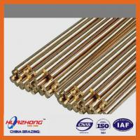Wholesale Copper based material brass welding rod,brazing brass rod,wire/ring/strip type,brass filler metal,2kg/package from china suppliers
