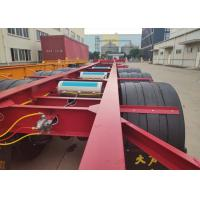 skeleton chassis container trailer