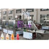 Wholesale Full Auto Glass Bottle Liquid Filling Machine , Fruit Juice Filler 8000BPH from china suppliers