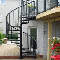 Attrayant Quality Escape Fire Spiral Staircase , Wrought Iron Spiral Stairs , Hot  Galvanized For Sale ...