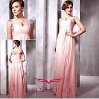 Wholesale stylish brand beded spaghetti strap prom gowns from china suppliers