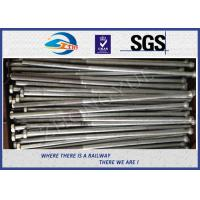 Buy cheap Customized High Strength Hex Bolts Railway Bolt With Nuts / Washers from wholesalers