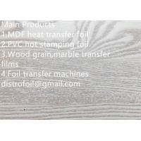 Wholesale Wood hot stamping foil for MDF from china suppliers