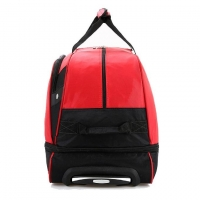 Wholesale Leisure Red Oxford Weekend Duffle Bag With Tie Rod from china suppliers