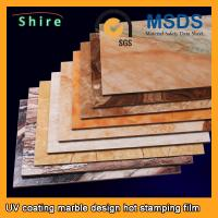 Wholesale PET Heat Transfer Film Hot Stamping Foil Roll With Strong Covering Power from china suppliers