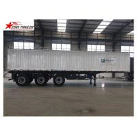 Wholesale Hydraulic Wing Van Platform Semi Trailer Container Delivery With Tail Retractable from china suppliers