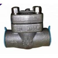 Wholesale Forged SW / NPT Non Return Check Valve Small Water Hammer Pressure One Way Valve from china suppliers