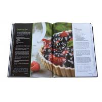 Wholesale CMYK Recyled A3 Print Cookbook Custom Hardcover Cook Book Printing Services from china suppliers
