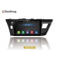Wholesale 16Gb Flash Toyota Car DVD Player 10.1 Inch 1024X600 Ips Optional  / Toyota corolla 2014 from china suppliers