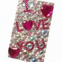 Buy cheap Rhinestone sticker for promotional and gift purposes, OEM orders are welcome from wholesalers