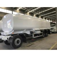 Wholesale 25000 Liters Capacity Three Axles Small Fuel Tanker Full Trailer For 40t Loading from china suppliers