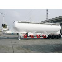 Wholesale Carbon Steel Dry Bulk Tank Trailers , 50000L Capcity Bulk Powder Tankers from china suppliers