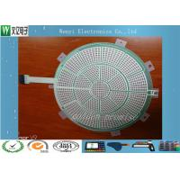 Quality Round Green Insulate PET Flex Circuit 0.125 Mm Silver Paste Print For Sports for sale