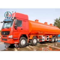 China Transport 30m³ Cooking Oil Stainless Steel Tank With 371HP Euro II / EuroIII Engine on sale