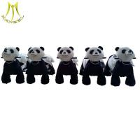 China Hansel   commercial plush walking animal adult ride on toys stuffed animals on wheels on sale