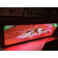Wholesale Great effect Taxi LED Display / multi - color taxi digital advertising electronic from china suppliers
