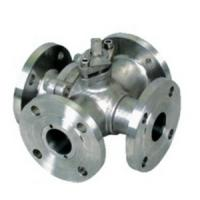 Wholesale 4 Way Flanged Ball Valve, Cast Steel Valve,PN16,ANSI 150LB,Lever operated from china suppliers