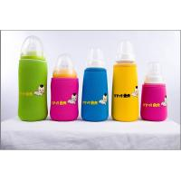 Wholesale neoprene baby's nursing bottle cooler holder / nursing milk bottle pouch warmer with srtap from china suppliers