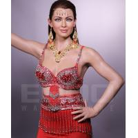 Buy cheap customized handmade realistic bollywood celebrity life-size wax statue for sale from wholesalers