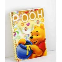 Wholesale OK3D Manufacture High Quality Customized 3d lenticular notebook cover printing service with pp pet book cover from china suppliers