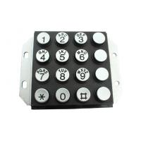 Wholesale IP65 Vandal Proof Stainless Steel Metal Keypad With Engrave Letter from china suppliers