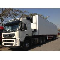 Wholesale Freezing Fresh Cargos Delivery Refrigerated Truck Trailer 40ft GRP Sandwich Panels from china suppliers