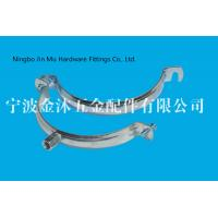 Wholesale M8 / M10  Hole Metal Tube Clamps With Electro Galvanized Surface , Bandwidth 20mm from china suppliers