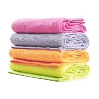 100% Cotton ECO-friendly Yarn Dyed Terry Face Wash Towels