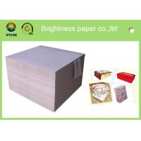 Wholesale Stanard Size Grey Cardstock Paper , Grey Cardboard Sheets For Wine Packages from china suppliers