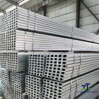 Wholesale Lightweight U Shaped Channel , Formed Steel U Channel Iron Metal Long Length from china suppliers