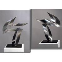 Wholesale Customized Sculpture/ Modern Decorative Stainless Steel Indoor Sculpture from china suppliers