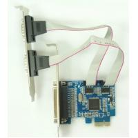 2 serial 1 parallel port pci express card of polotektechnology - Parallel port and serial port ...