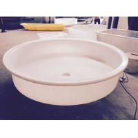 2015 new design M1400 PE food grade plastic Cone Round bucket conical plastic water tank