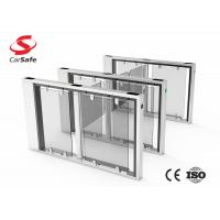 Wholesale RFID Reader Automatic Turnstile Gate TCP / IP RS485 Interface 0.4S-1.0S Opening Time from china suppliers