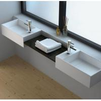 Wholesale Sleek Design Single Hole Wall Mounted Basin Sink from china suppliers