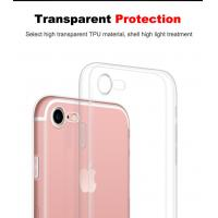China Ultra Thin Soft Tpu Case For Apple Iphone 7/7 Plus Camera Protection Crystal Clear Transparent Cover Phone Cases wholesale