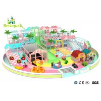 Wholesale Macaron Theme Kids Plastic Indoor Playground With Slide Multi - Functional from china suppliers