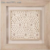 Wholesale Natural 3D Shadow Box  Double framed Papyrus Artwork from china suppliers