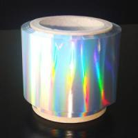 China Rainbow Grating Holographic Hot Stamping Foil on sale