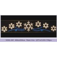Wholesale Outdoor commercial public holiday led Christmas street decoration motif light from china suppliers