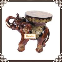Wholesale home decoration items art craft stool modern and fashion elephant figurines A0547M from china suppliers