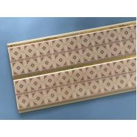 Wholesale 10 Inch Water Resistant Bathroom Wall Panels With PVC Resin Material from china suppliers