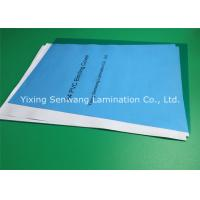 Wholesale Office Clear Blue Customized Binder Covers 200 Mic Less Fish Eye from china suppliers